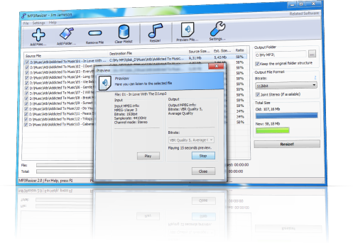 mp3 file size reducer software free download